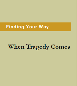 Finding Your Way When Tragedy Comes Brochure by Grace Wulff