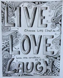 Live, Love, Laugh.