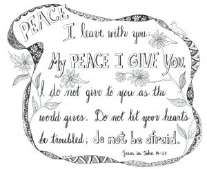 My Peace I give you.