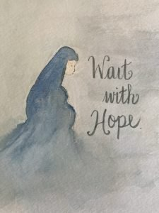 Wait with hope