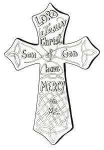 Jesus Prayer in a Cross