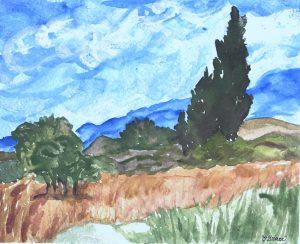Grace's Wheat Field