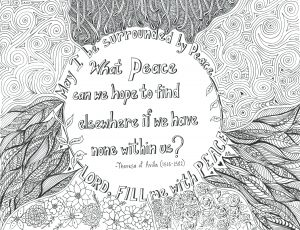 Peace Quote by Teresa of Avilla